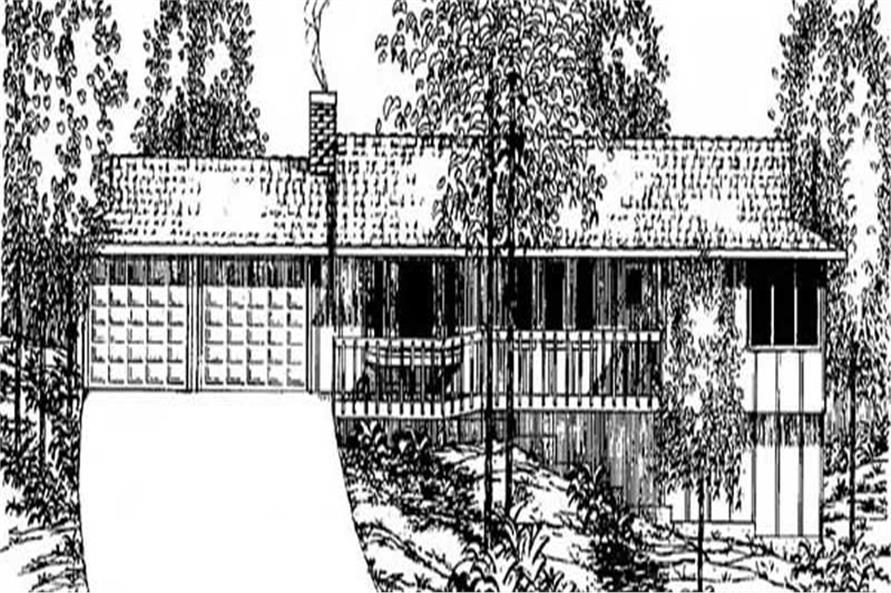 Main image for house plan # 6646