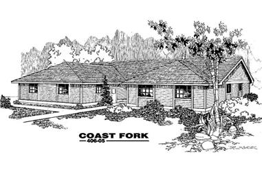 3-Bedroom, 2167 Sq Ft Country House Plan - 145-1038 - Front Exterior