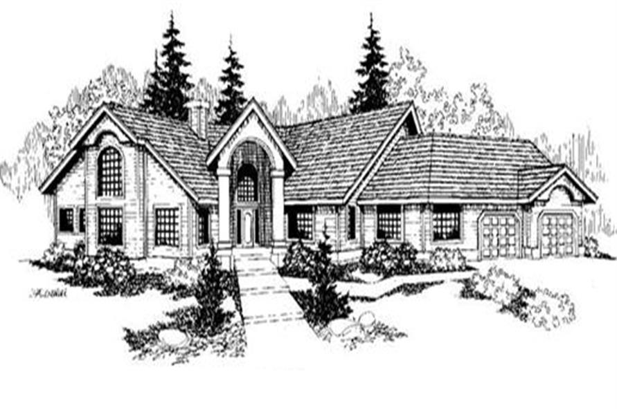 Main image for house plan # 6373