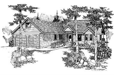 Main image for house plan # 6627