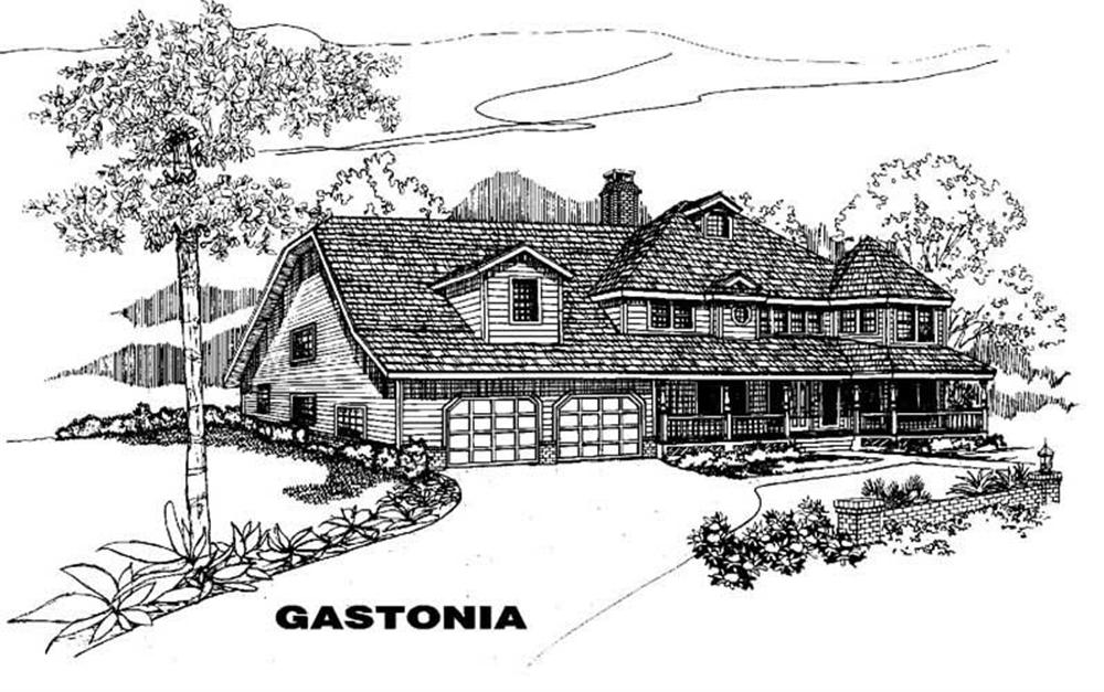 Main image for house plan # 3591