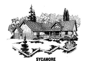 4-Bedroom, 2356 Sq Ft Ranch House Plan - 145-1055 - Front Exterior