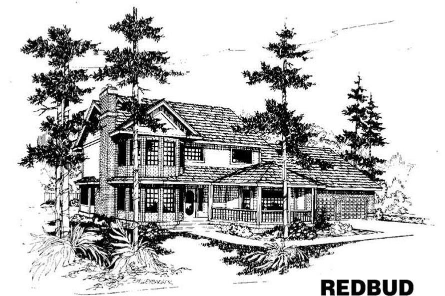 Main image for house plan # 3522