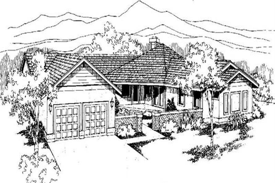 Main image for house plan # 3520