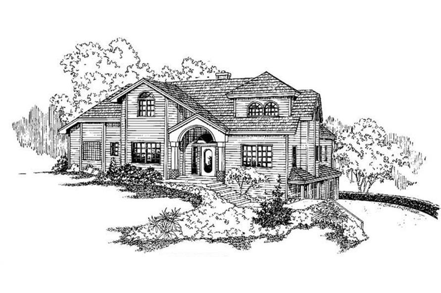 Main image for house plan # 5533
