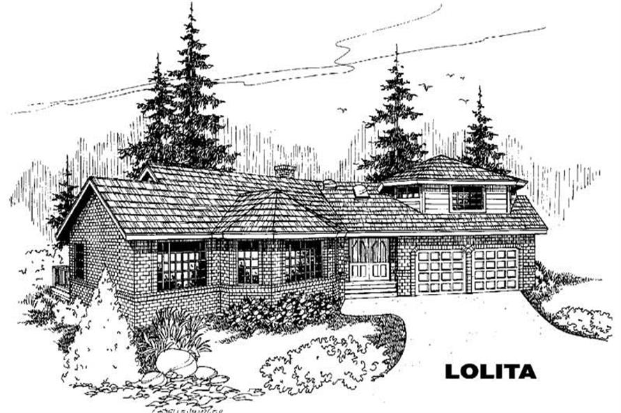 Main image for house plan # 5530