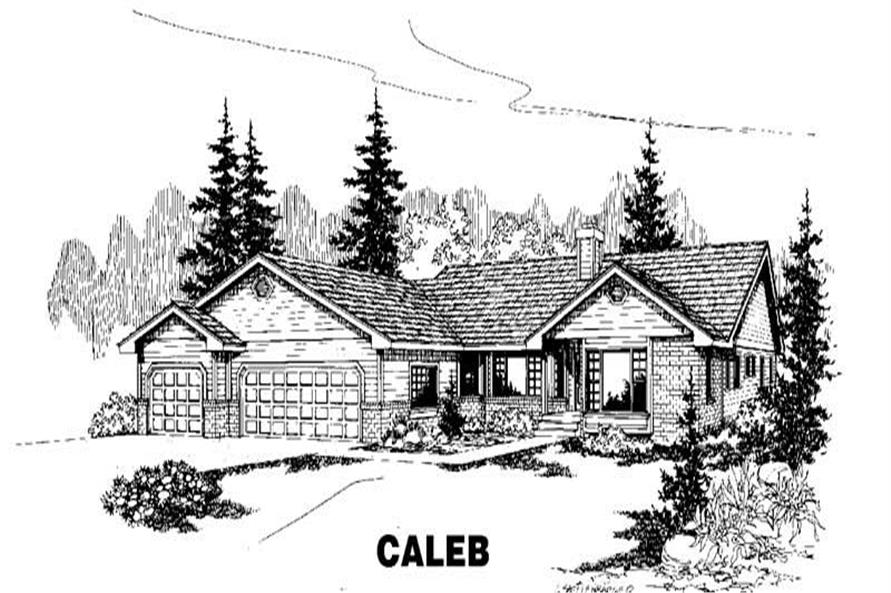 Main image for house plan # 3560