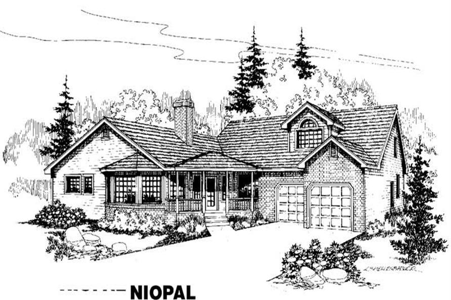Main image for house plan # 3558
