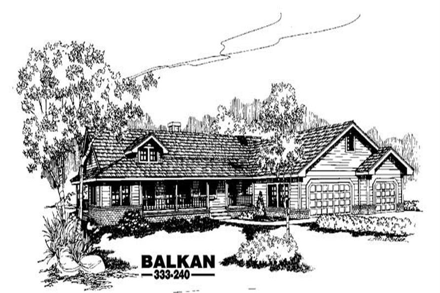 Main image for house plan # 3556
