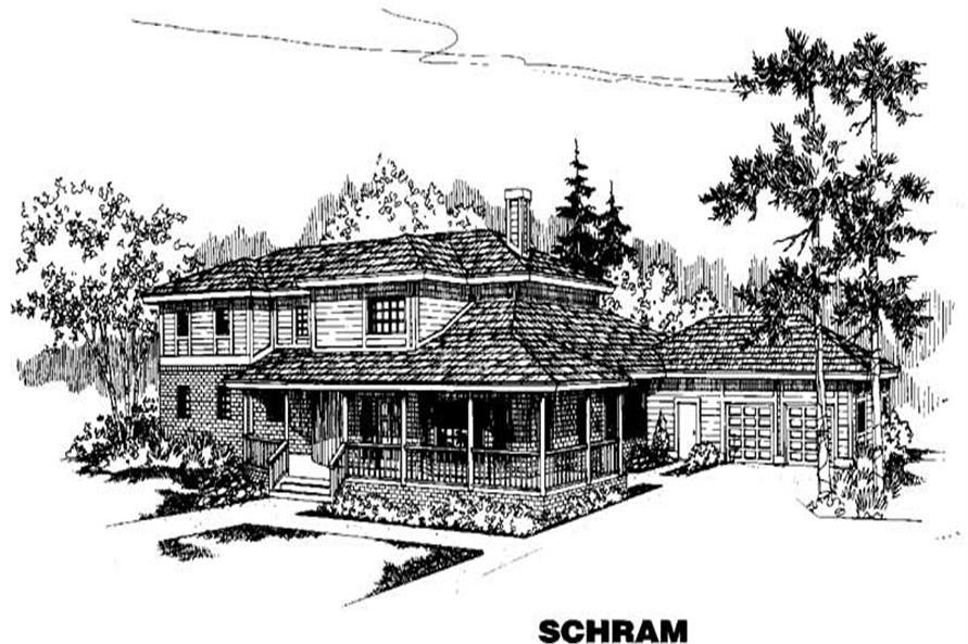 Main image for house plan # 3993
