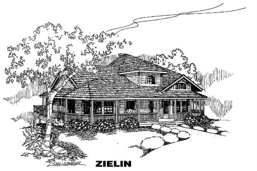 Main image for house plan # 6383