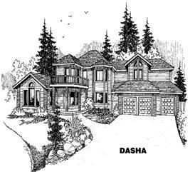 House Plan #145-1118