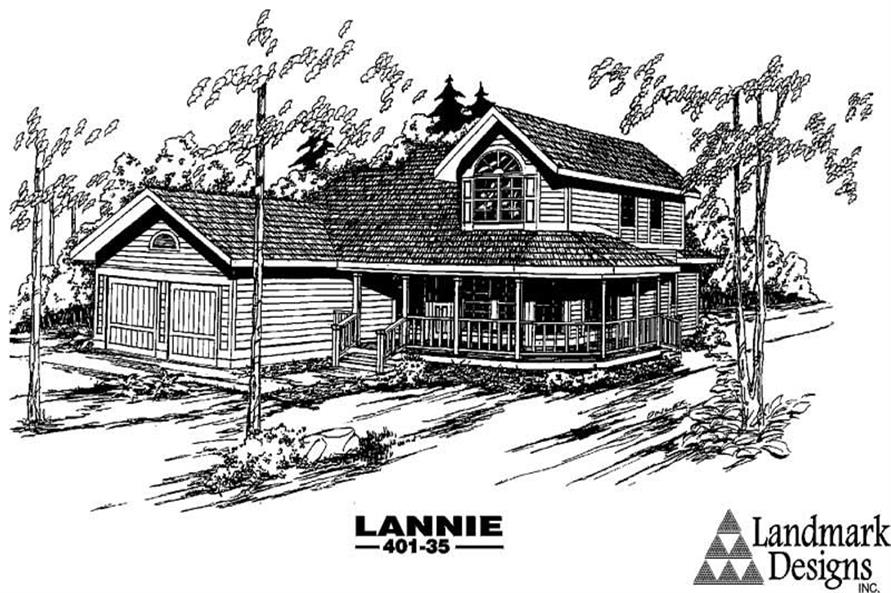 Main image for house plan # 3994