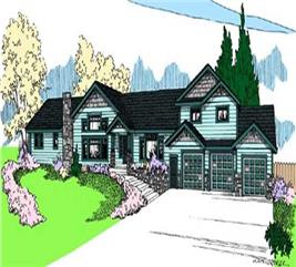 House Plan #145-1125