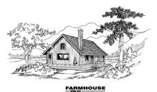 Main image for house plan # 6584