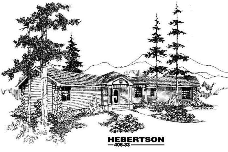 Main image for house plan # 6578