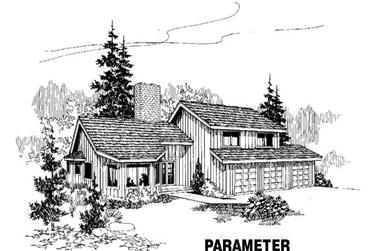 3-Bedroom, 2691 Sq Ft Traditional Home Plan - 145-1139 - Main Exterior