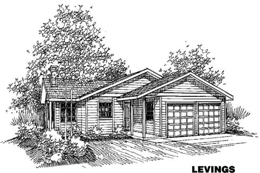 Main image for house plan # 4211