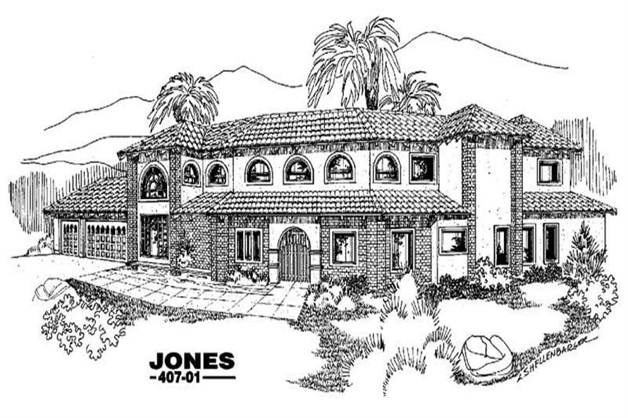 Main image for house plan # 6603
