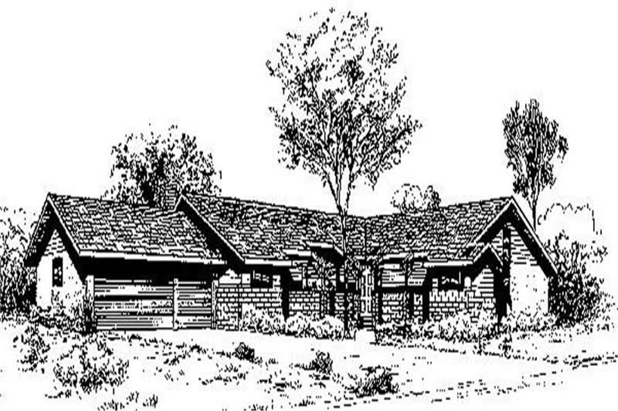 Main image for house plan # 6755