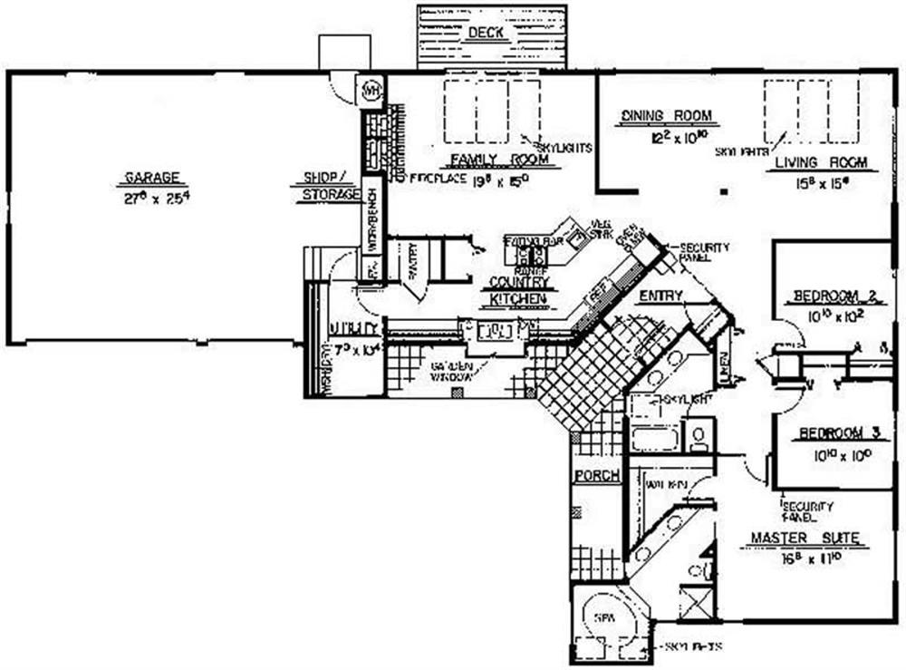 Large Images For House Plan 145 1149