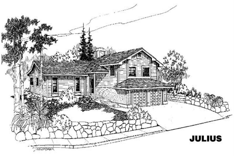 Main image for house plan # 3871