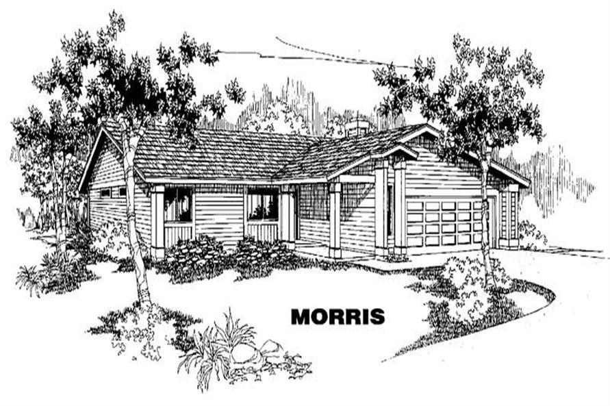 Main image for house plan # 3870