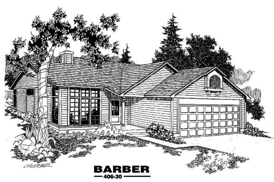 Main image for house plan # 6576