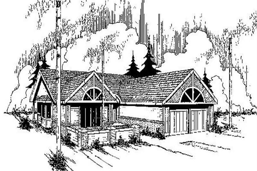 Main image for house plan # 6761
