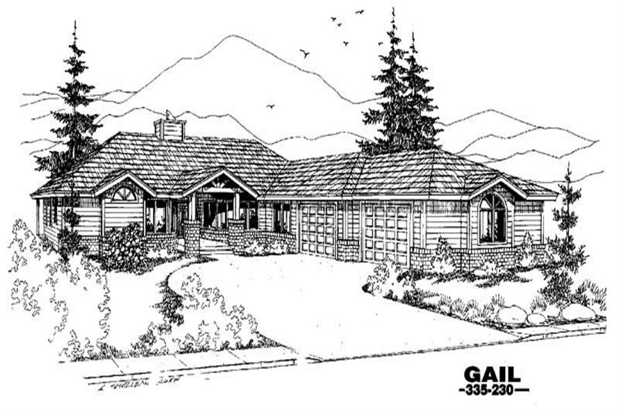 Main image for house plan # 3611