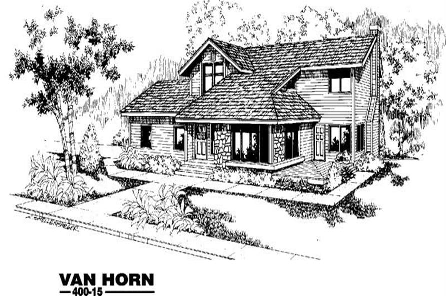 Main image for house plan # 3847