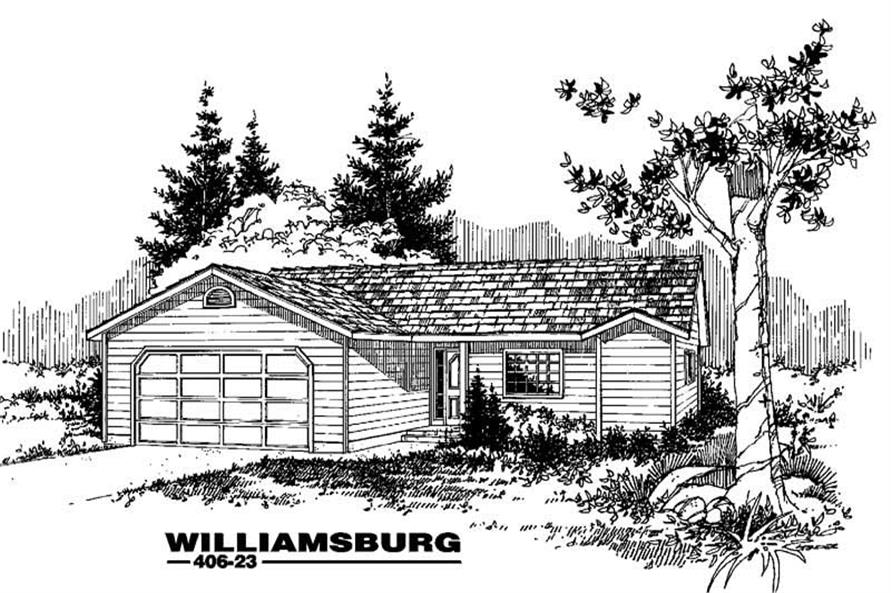 Small House Plans Home Design Williamsburg 6571