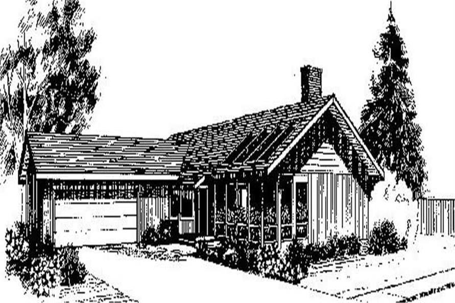 Main image for house plan # 6730