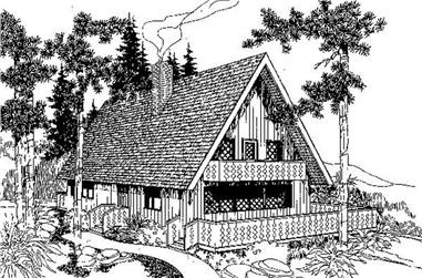 Main image for house plan # 6724