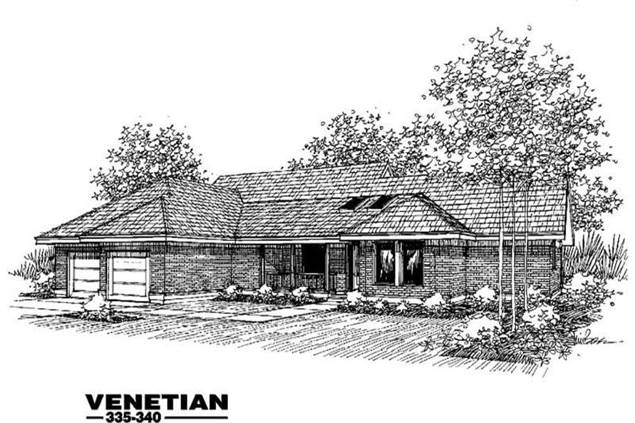 Main image for house plan # 3615