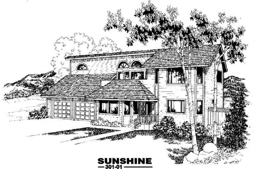 Main image for house plan # 3405