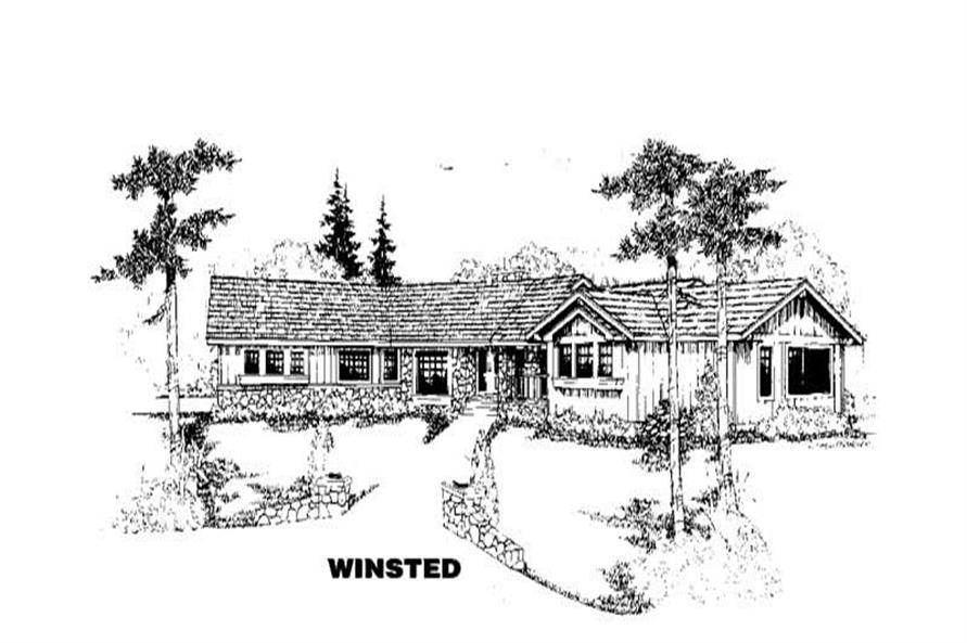 Main image for house plan # 3373