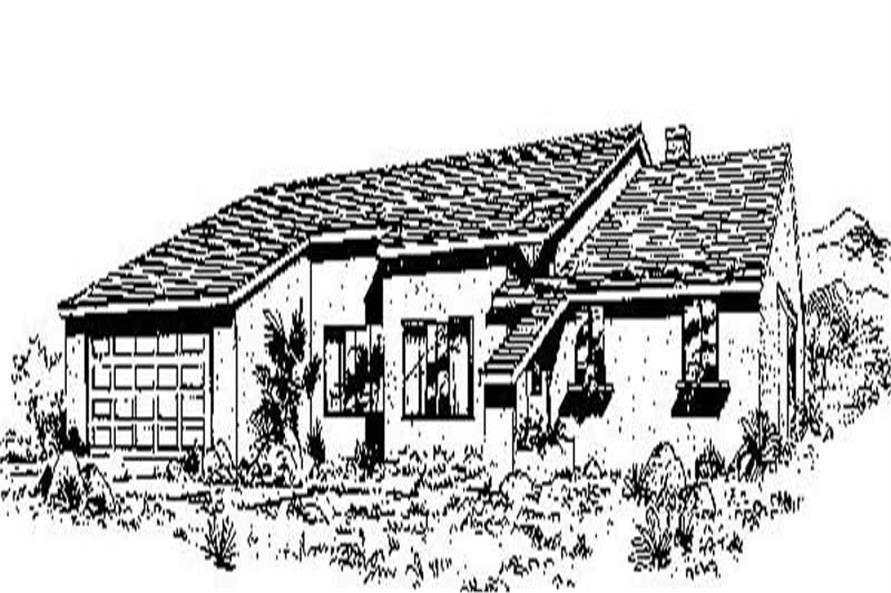 Main image for house plan # 6749