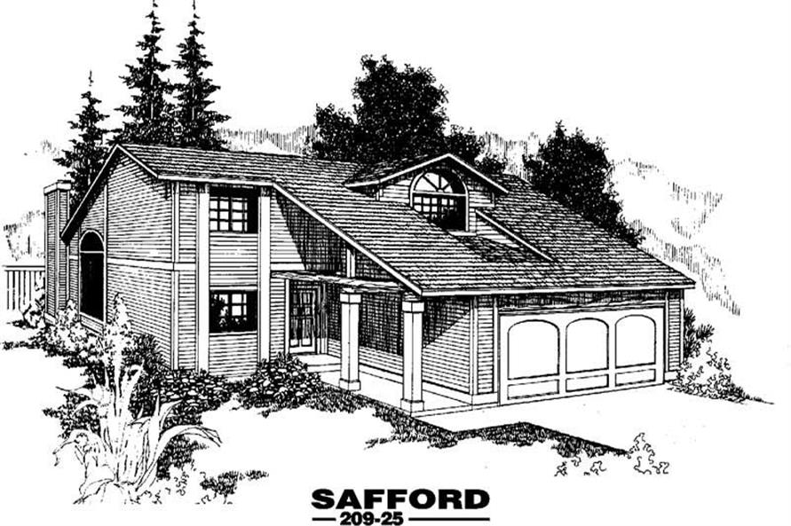 Main image for house plan # 3365