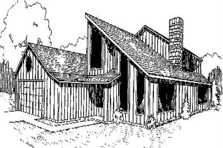 Main image for house plan # 6744