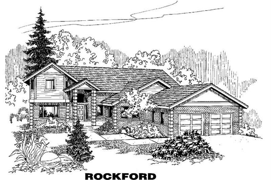 Main image for house plan # 3571