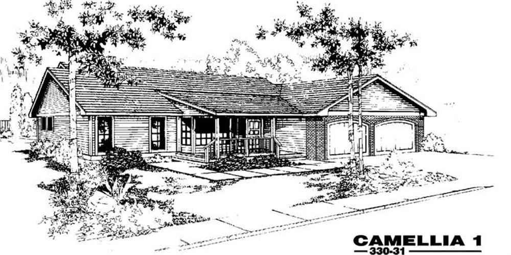 Main image for house plan # 3395