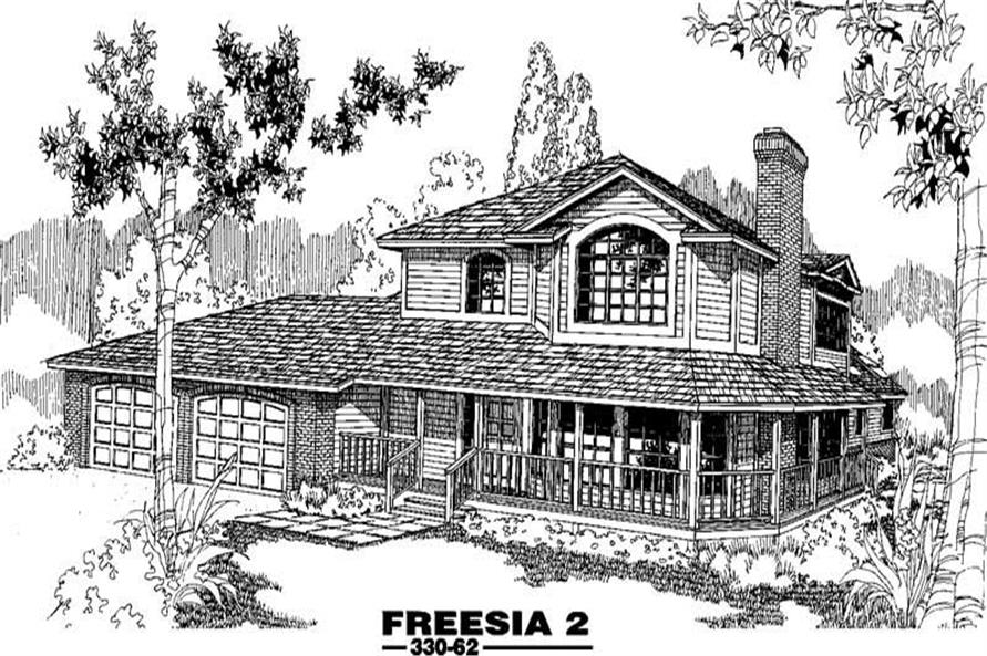 Main image for house plan # 3402