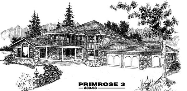 Main image for house plan # 3400