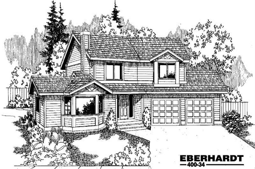 Main image for house plan # 3857