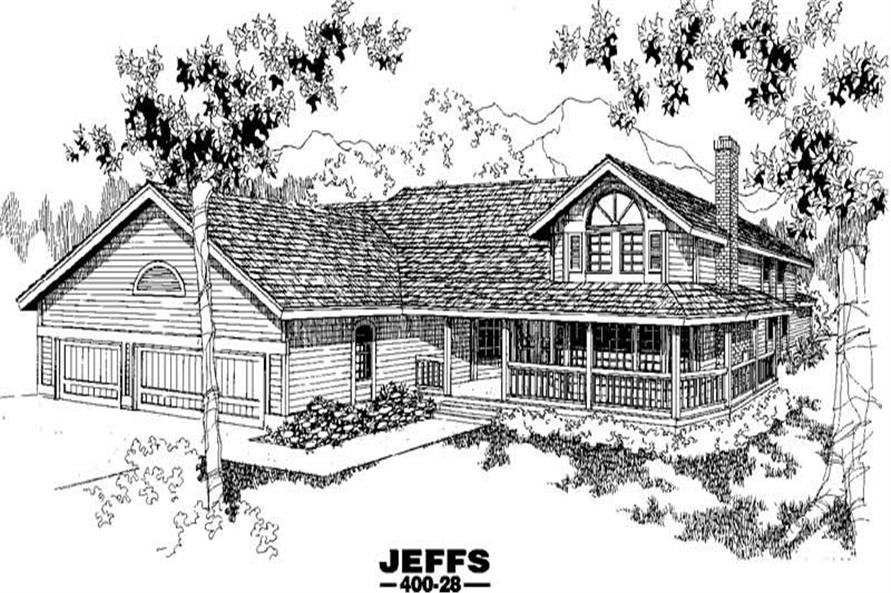 Main image for house plan # 3853