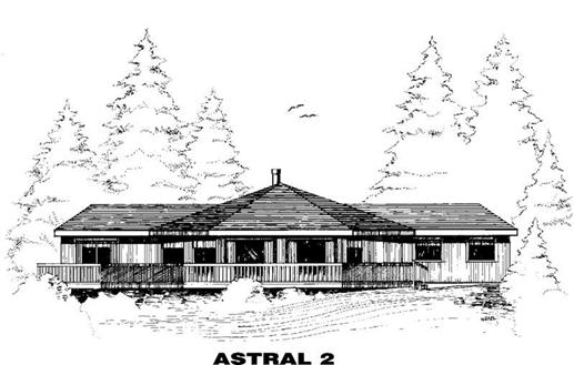 Main image for house plan # 3388