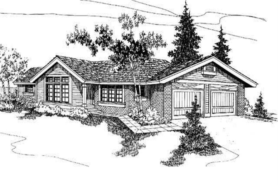 Main image for house plan # 3384