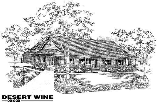 Main image for house plan # 3311