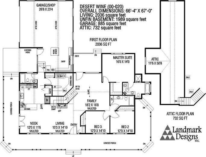 Desert Home Plans | Country Ranch House Plans Home Design Desert Wine 3311